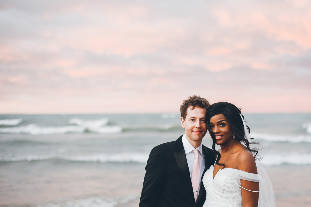 couple has weekday wedding