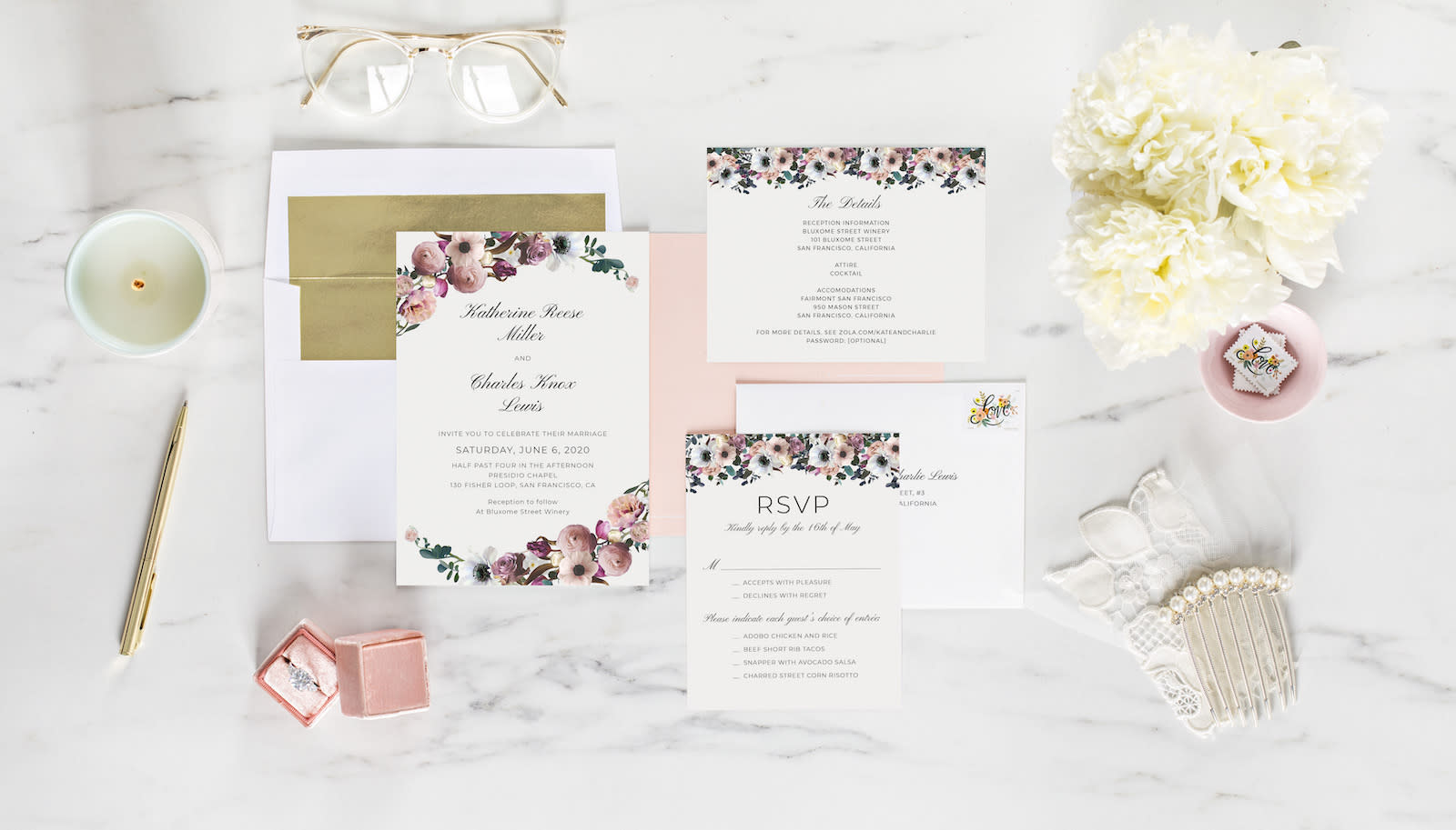 A Guide To Invitation Enclosure Cards Zola Expert Wedding Advice