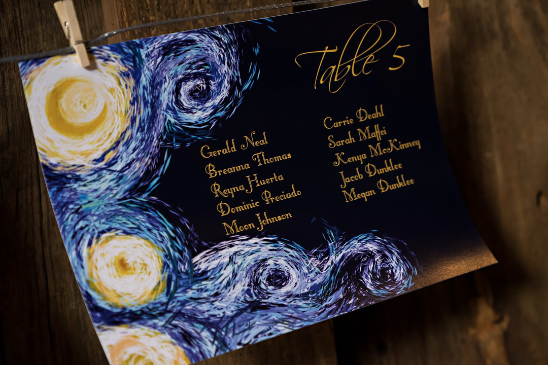 How to Create a Romantic Starry Night Wedding Theme