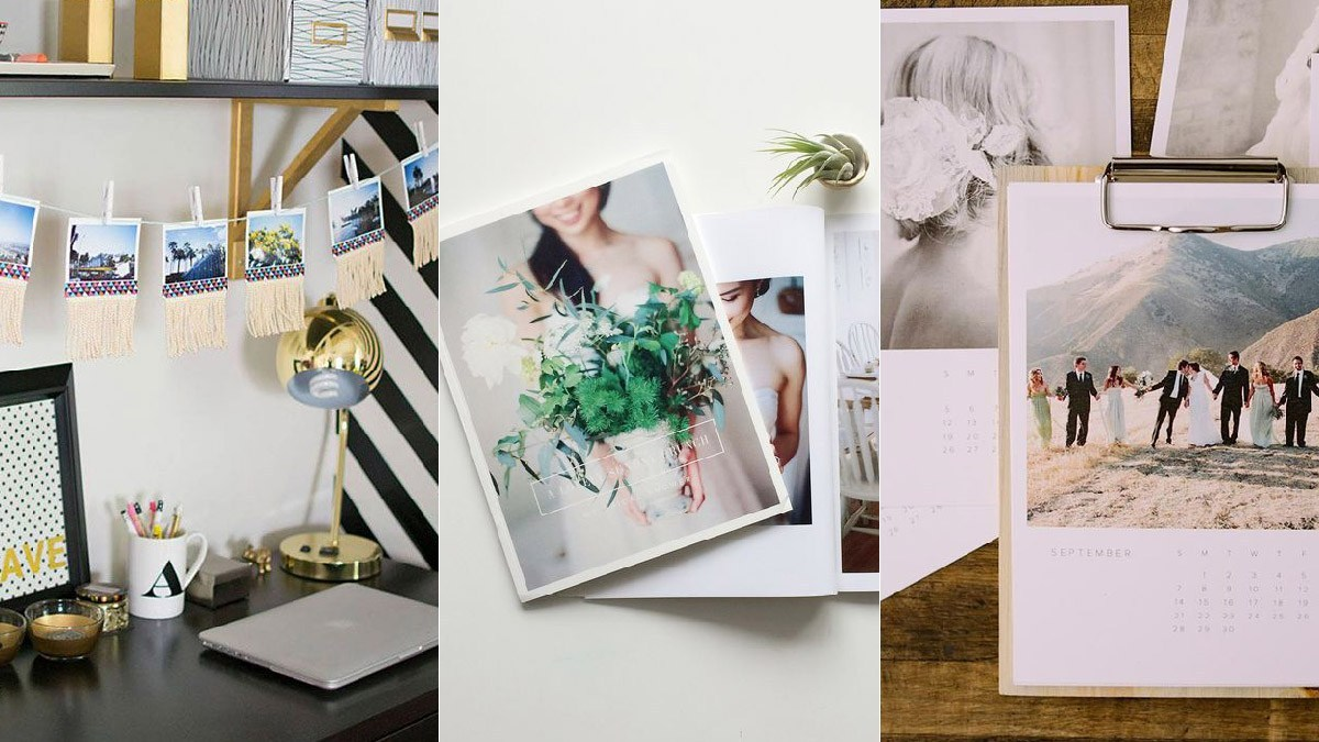 different ways to incorporate your wedding photo