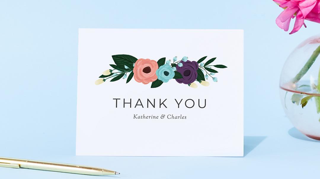 Bridal Shower Thank You Card Etiquette