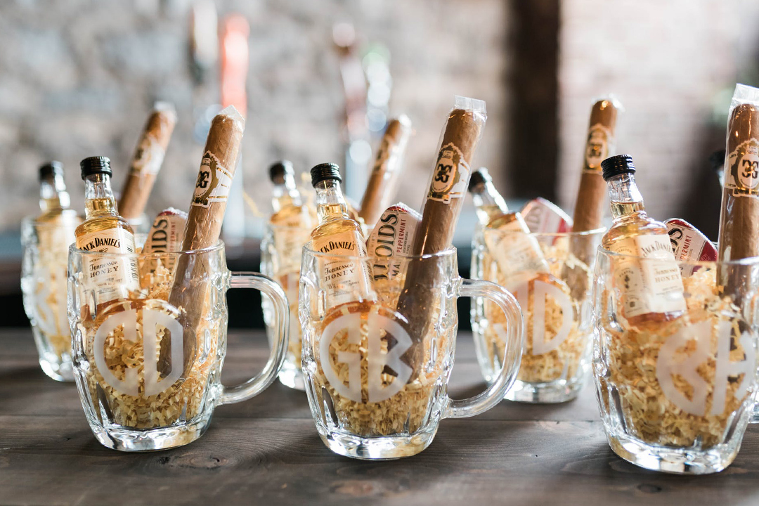 Boozy Wedding Favors