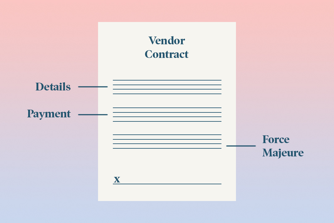 What to Look for in a Wedding Vendor Contract