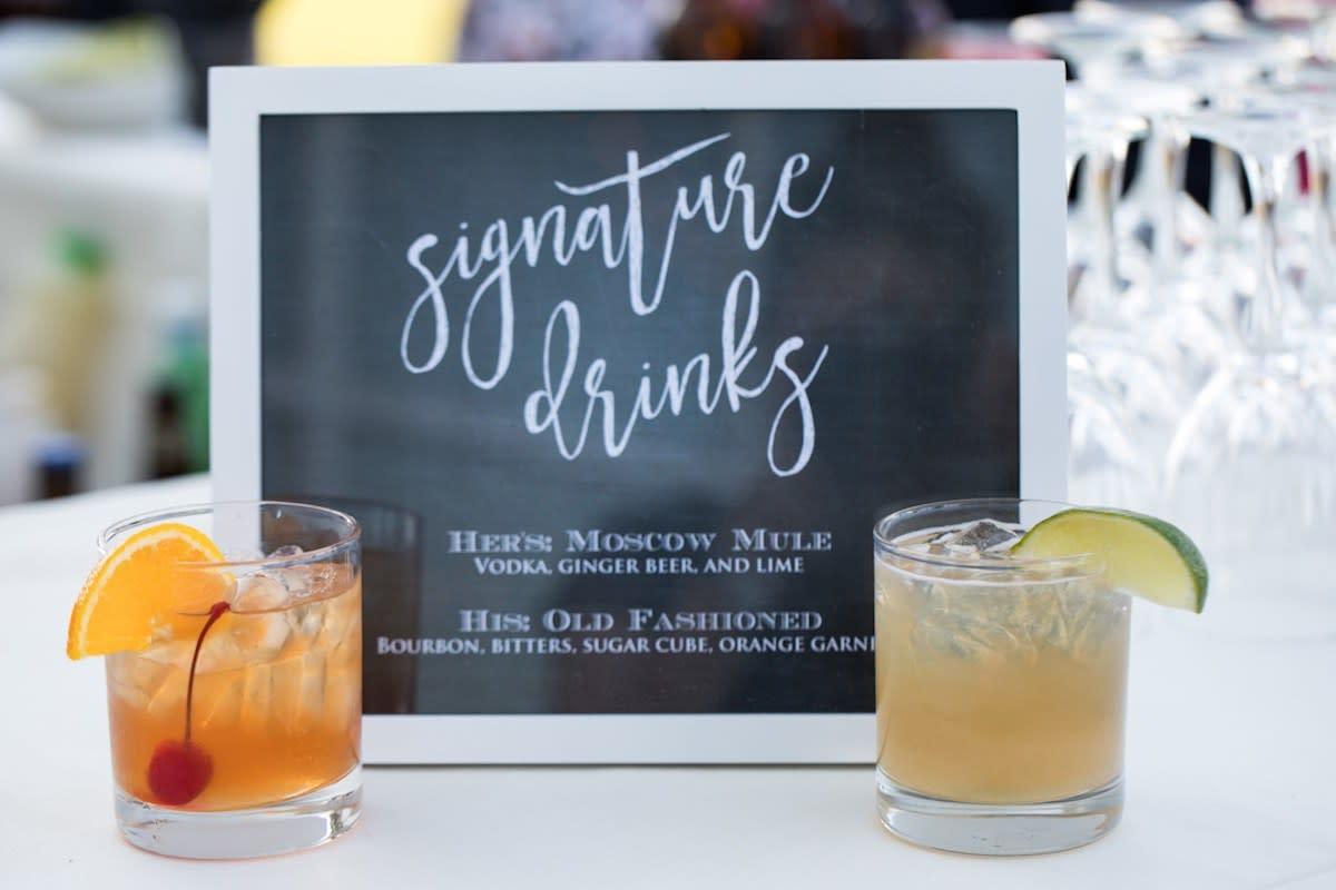 Wedding Signature Drinks.How To Choose A Signature Wedding Cocktail Zola Expert Wedding Advice