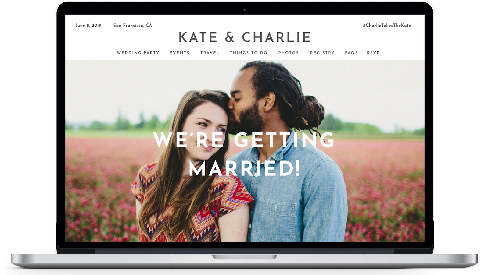 How to Make a Wedding Website  Zola Expert Wedding Advice