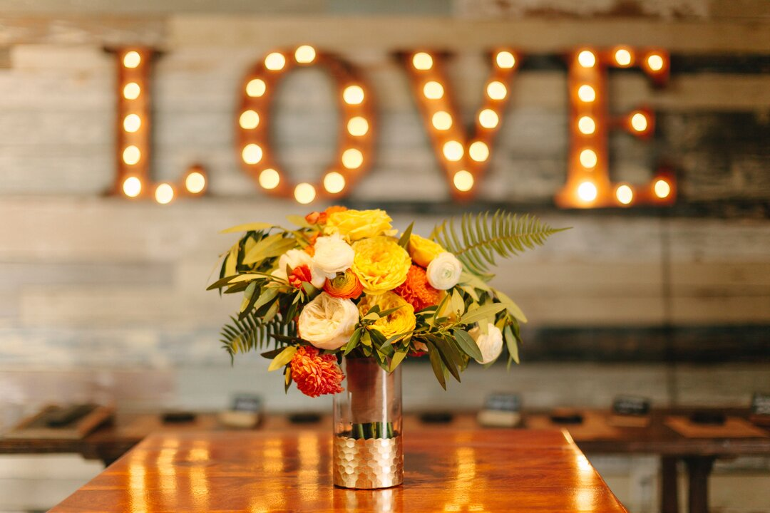 Wedding Lighting love sign
