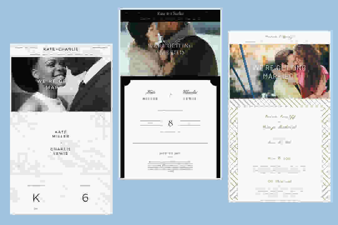 Wedding Website Design Ideas