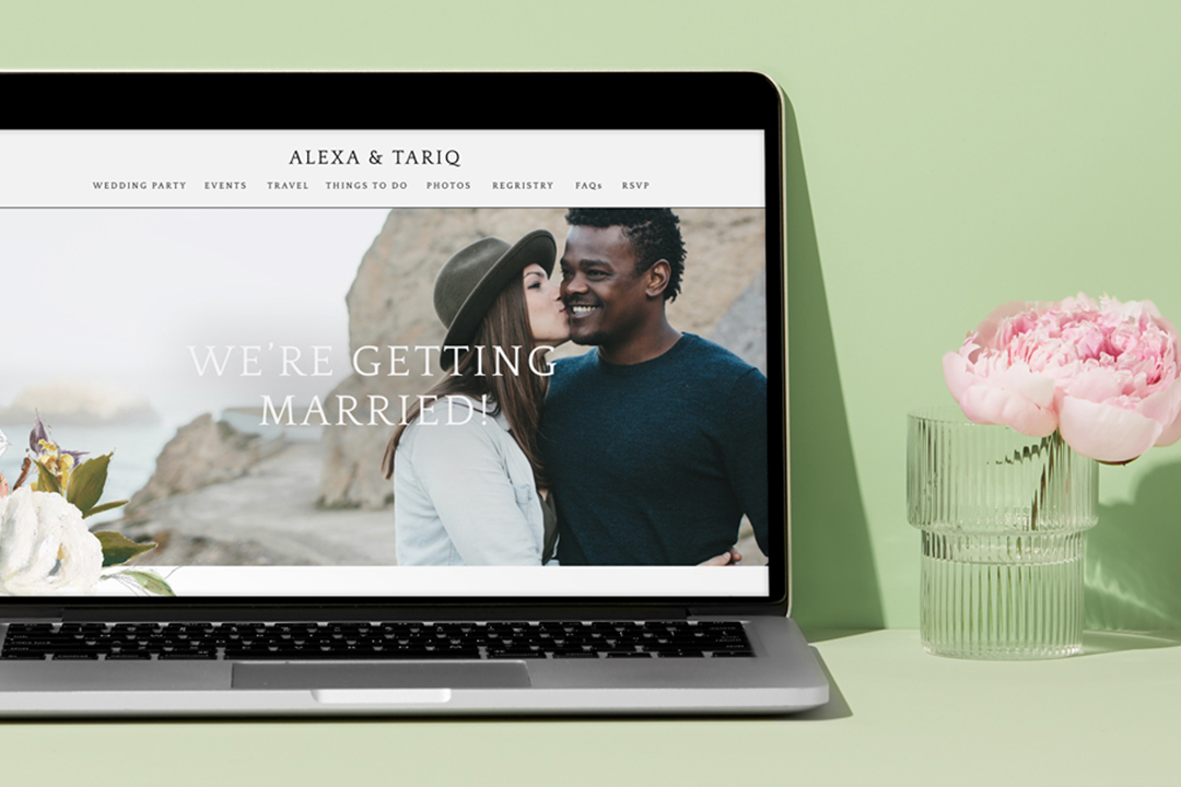 Writing a Wedding Website Welcome Message