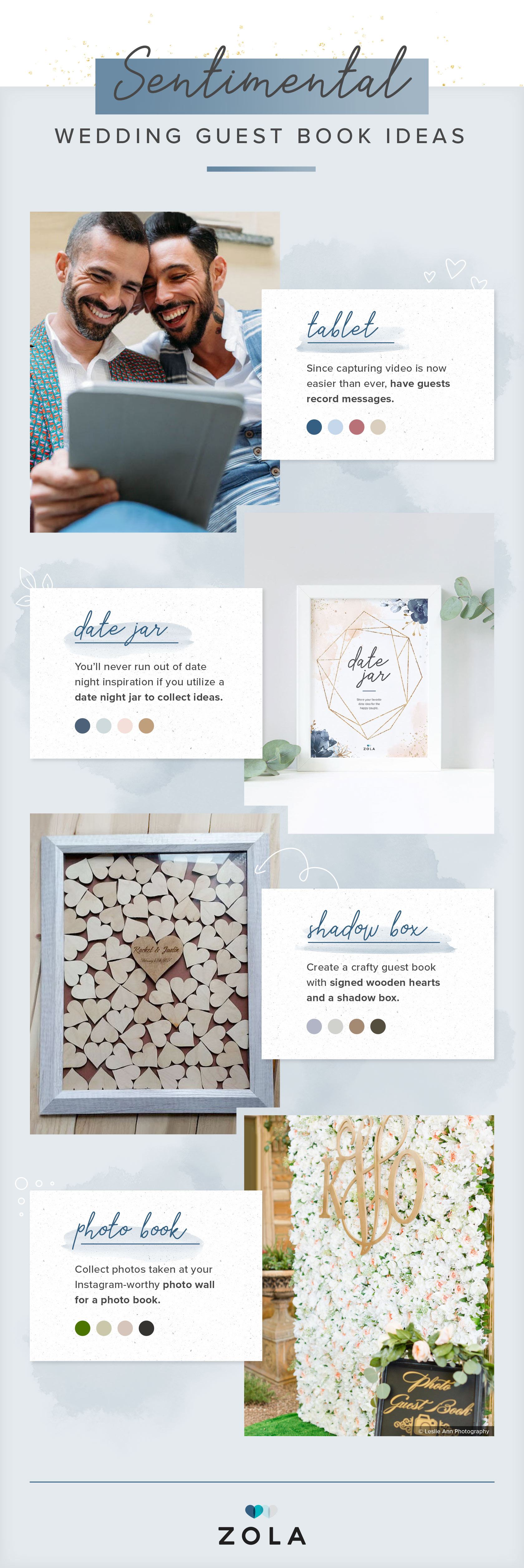 52 Unique Wedding Guest Book Ideas You Ll Want To Bookmark Zola Expert Wedding Advice