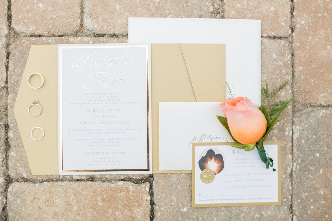 zola wedding invitation