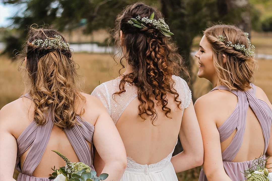 Whimsical Hairstyles for a Rustic Wedding