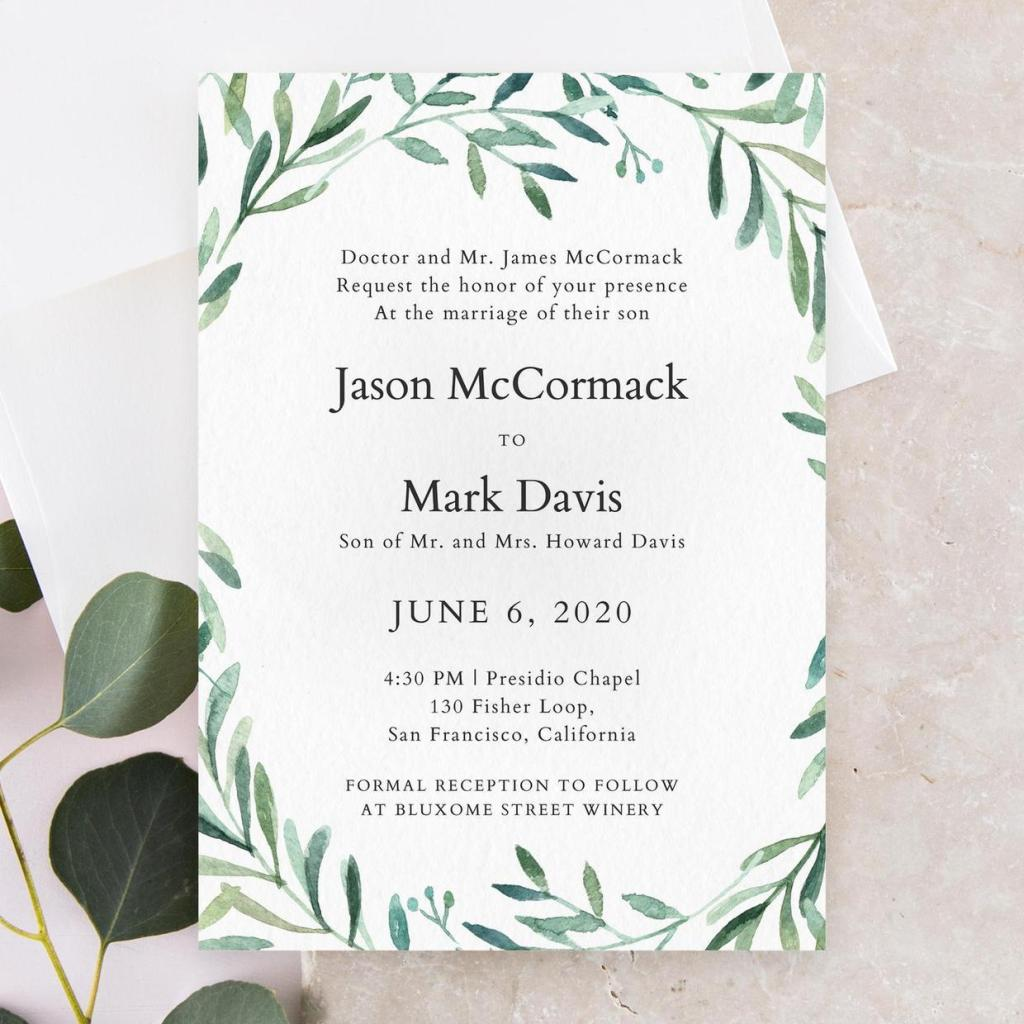 The Dos and Don'ts of Wedding Invitation Wording | Zola