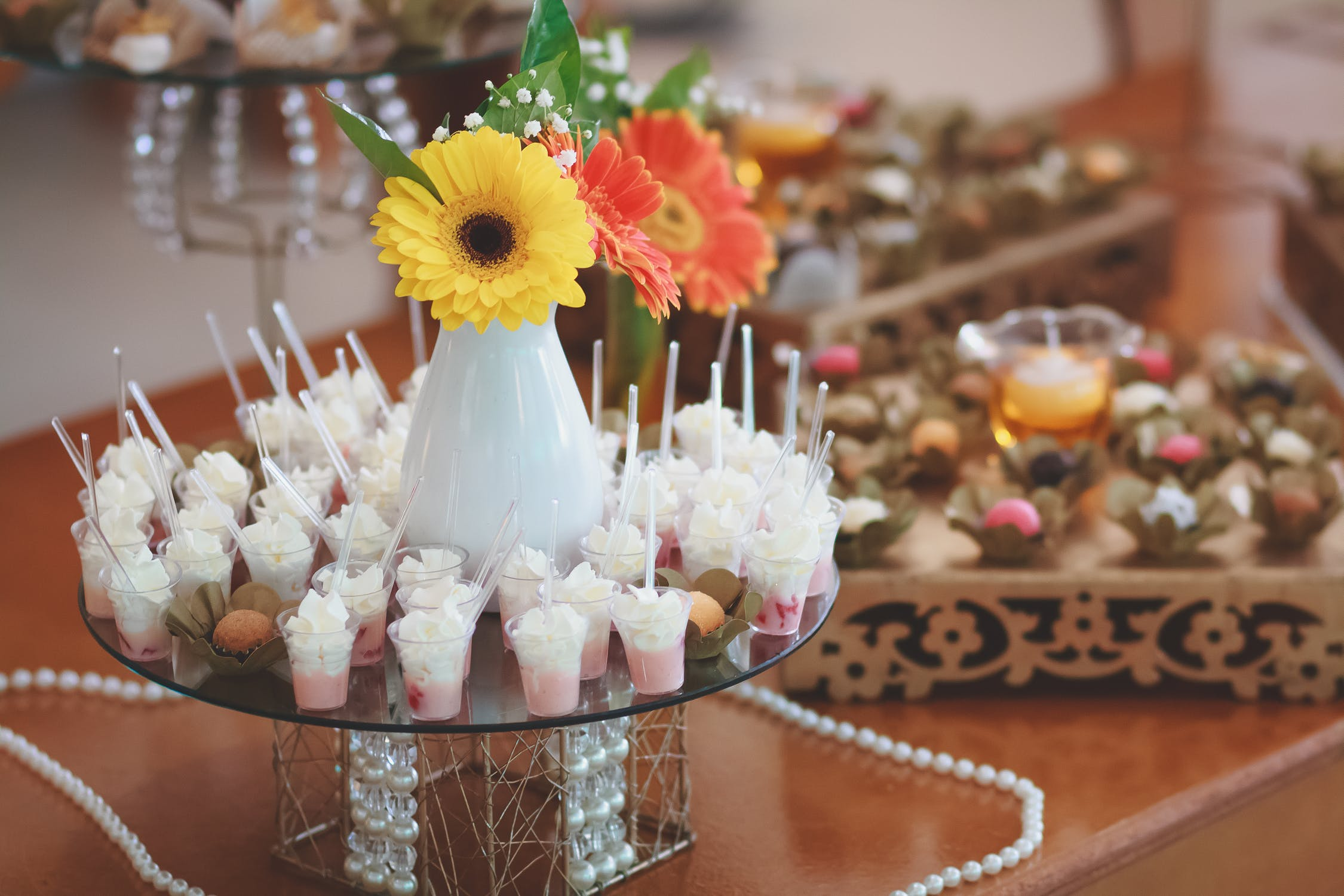 Delicious Wedding Dessert Bar