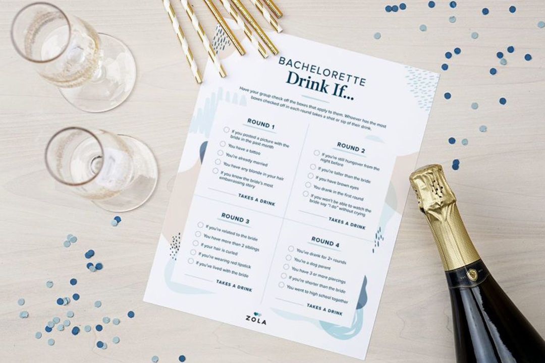 57 Free Bridal Shower Printables To Celebrate The Bride Zola Expert Wedding Advice