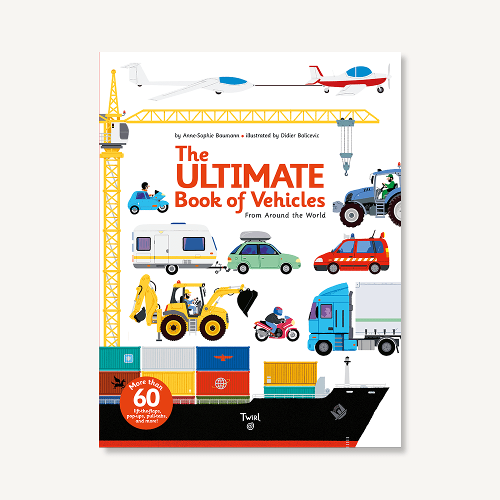 The Ultimate Book of Vehicles: 0