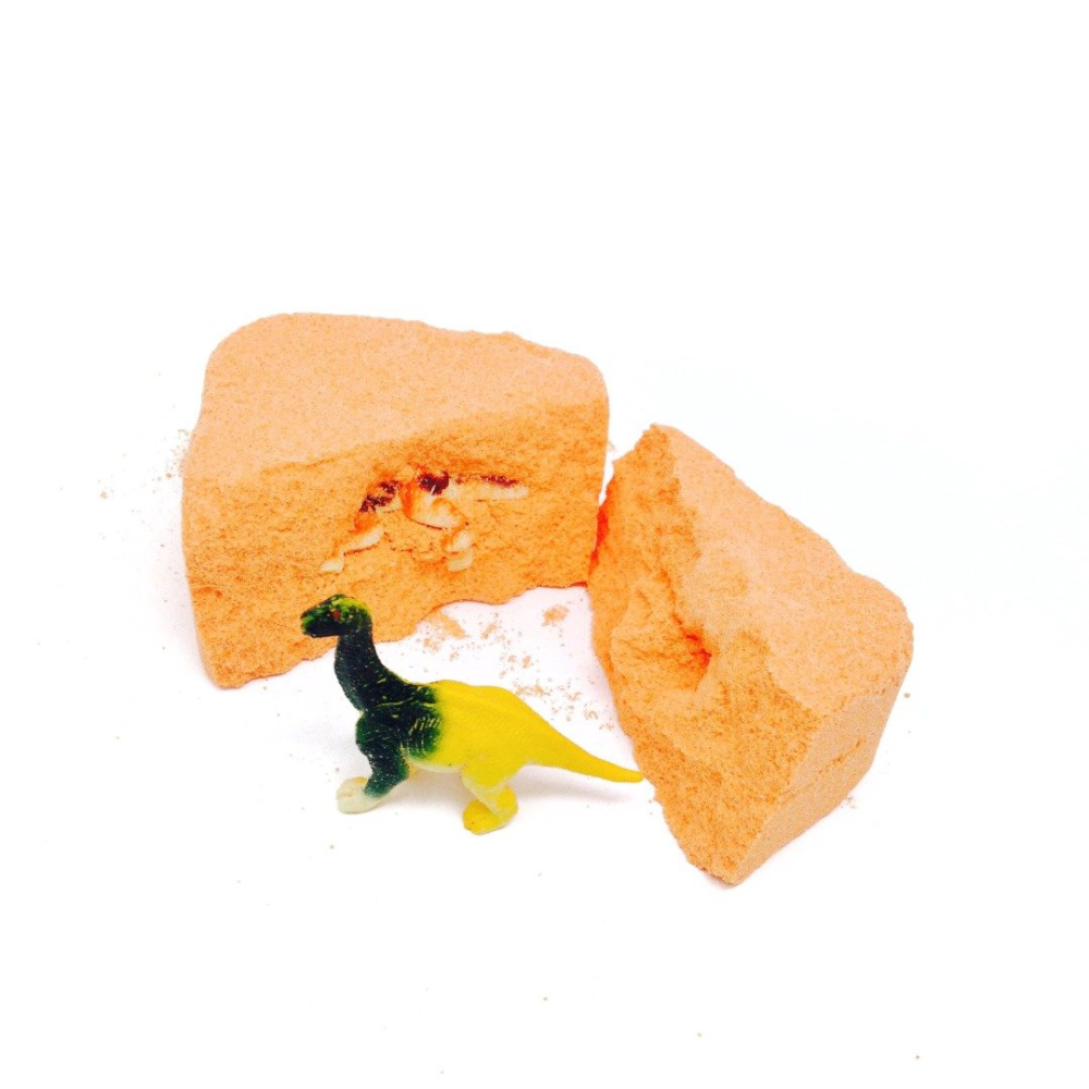 Feeling Smitten Dinosaurous Citrus Surprise Bag Bath Bomb: 0