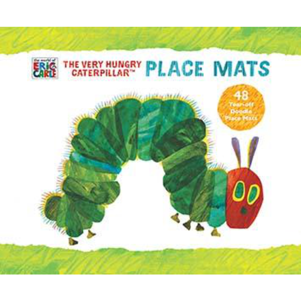 World of Eric Carle Very Hungry Caterpillar Place Mats: 0