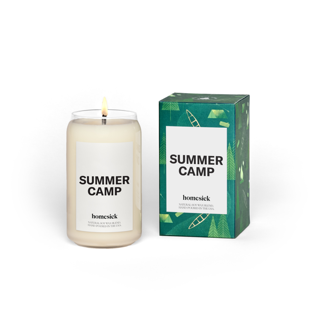 Homesick Summer Camp Candle: 0