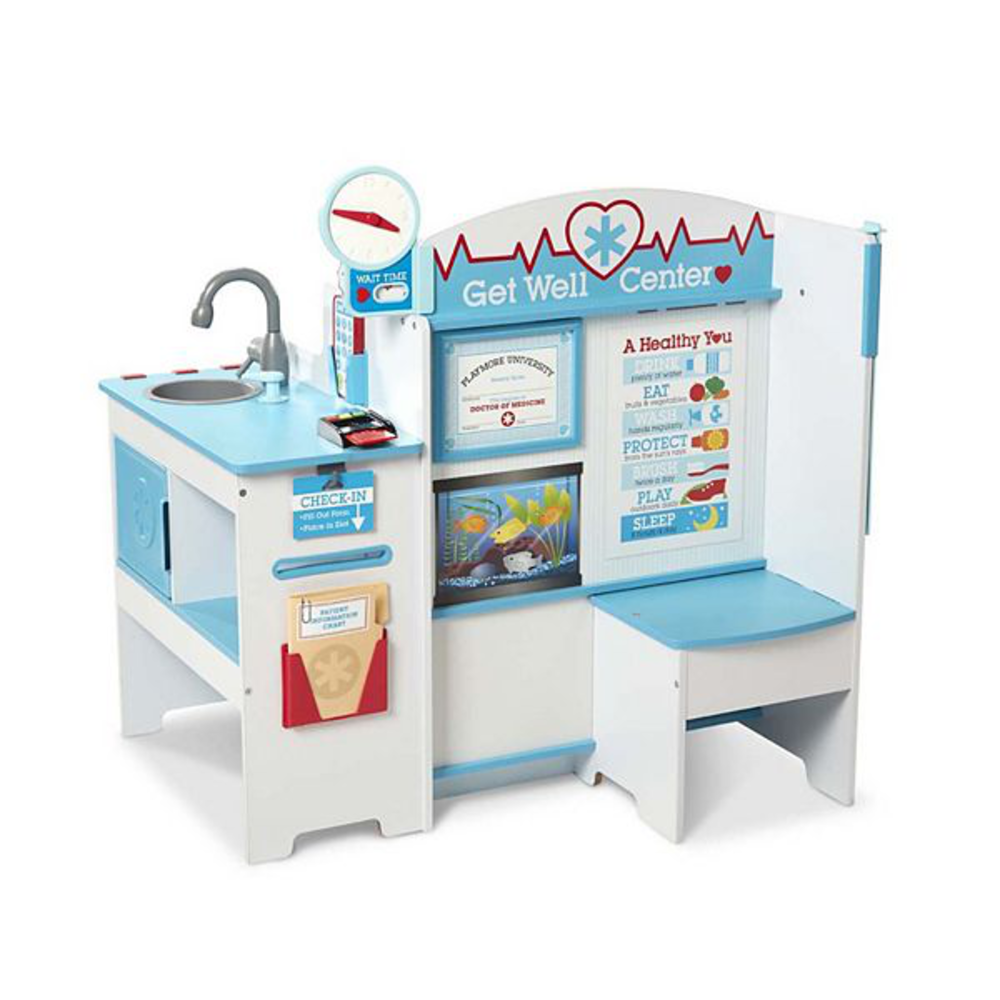 Melissa & Doug Get Well Doctor Activity Center: 0