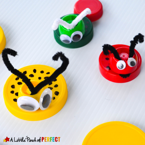 Little-Bugs-Recycled-Lid-Craft A-Little-Pinch-of-Perfect-3