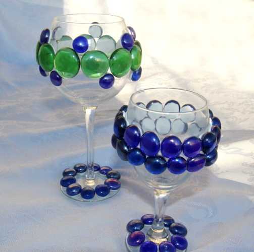 passover bejeweled glasses
