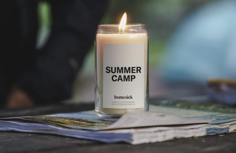 SummerCamp Homesick Candle