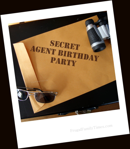 Secret Agent Birthday Party