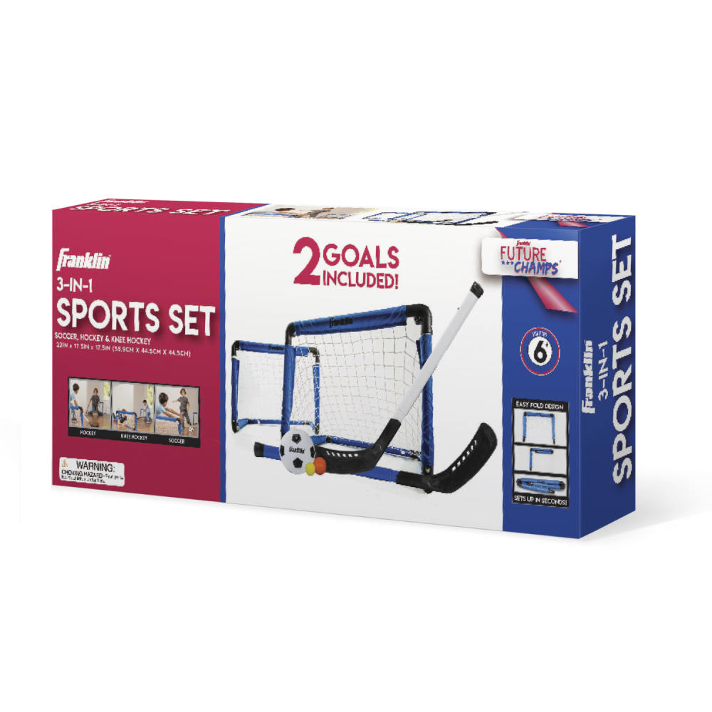 Franklin Sports 3-In-1 Indoor Sports Set 1