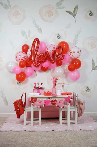 Valentine's Day Birthday Party