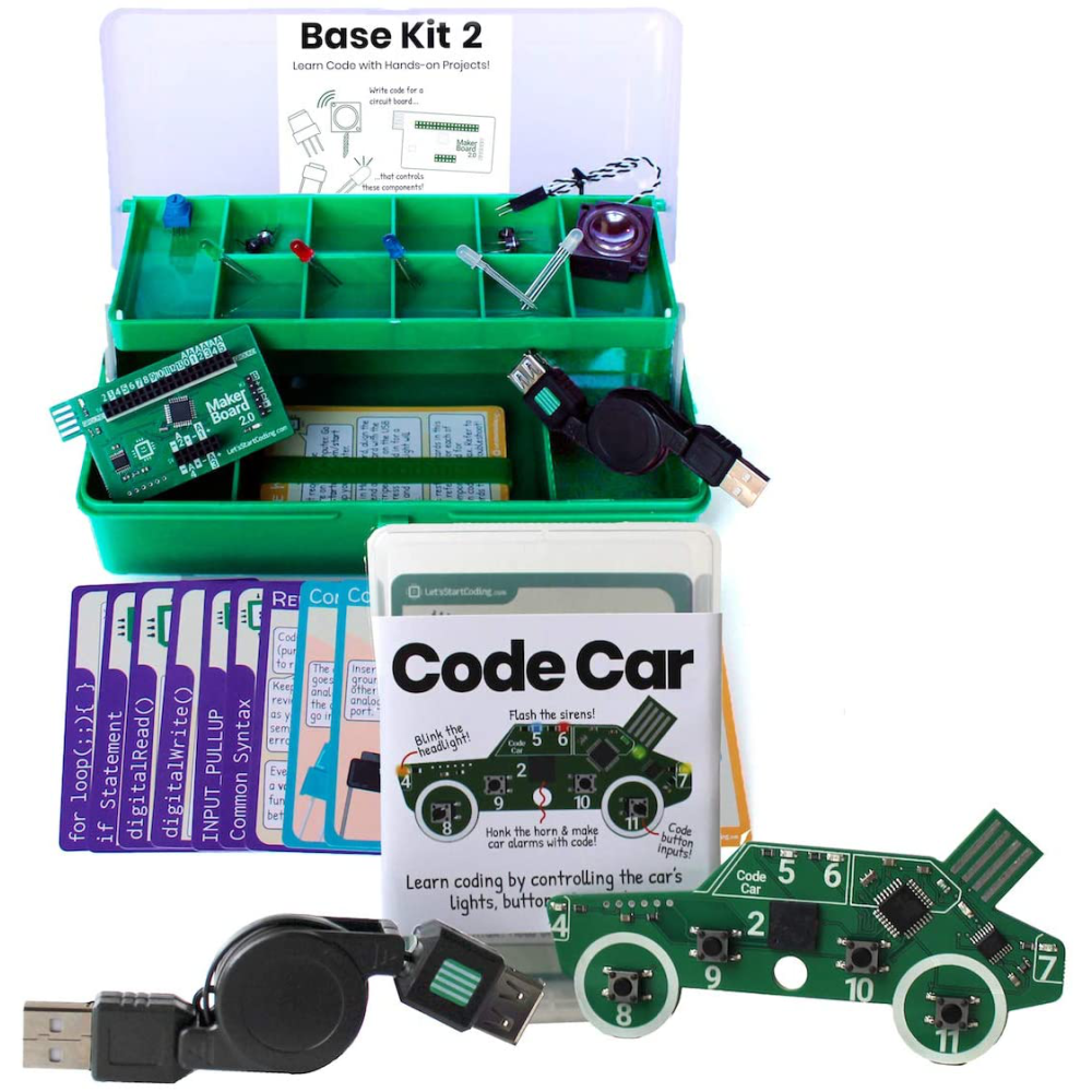 Base Coding Kit and Code Car Circuit Board: 0