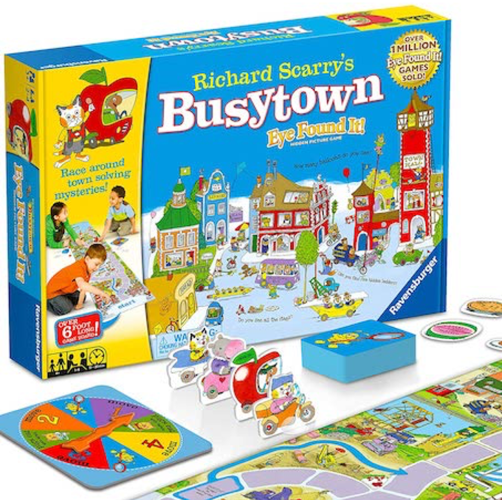 Richard Scarry's Busytown: Eye Found It!: 0