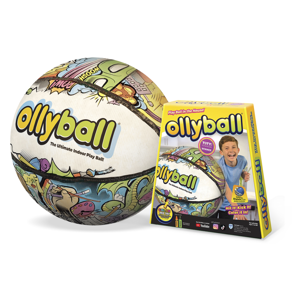 Ollyball Ultimate Indoor Play Ball Hero