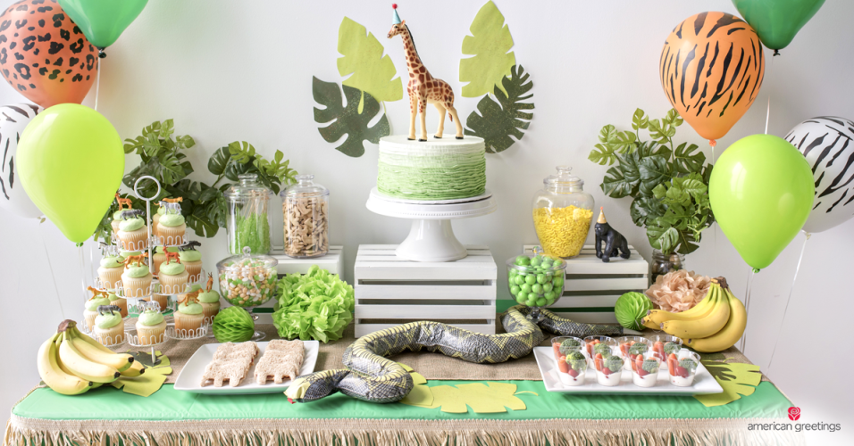 Jungle Safari Birthday Party