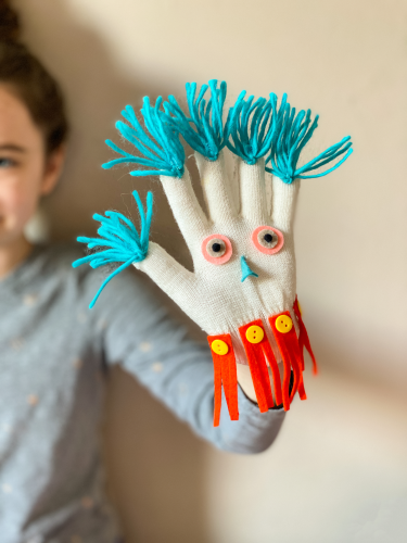 Glove monster puppet