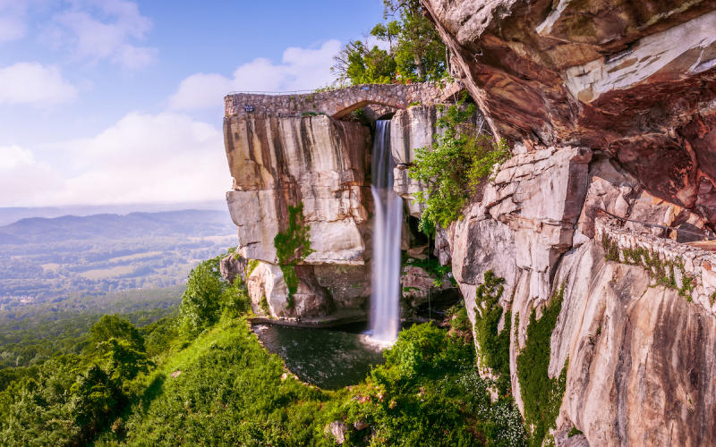 Lover's Leap, Lookout Mountain, Rock City, Georgia