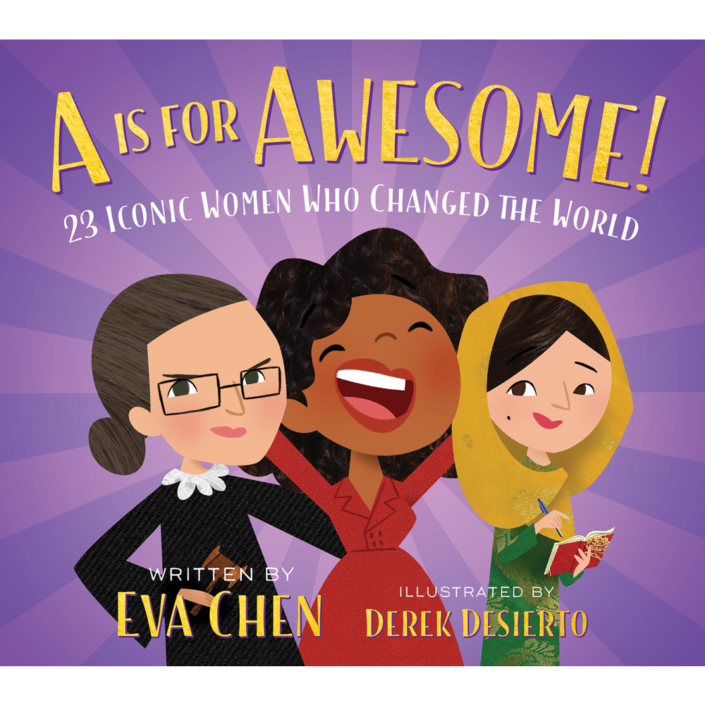 Macmillan Books A Is For Awesome Hero