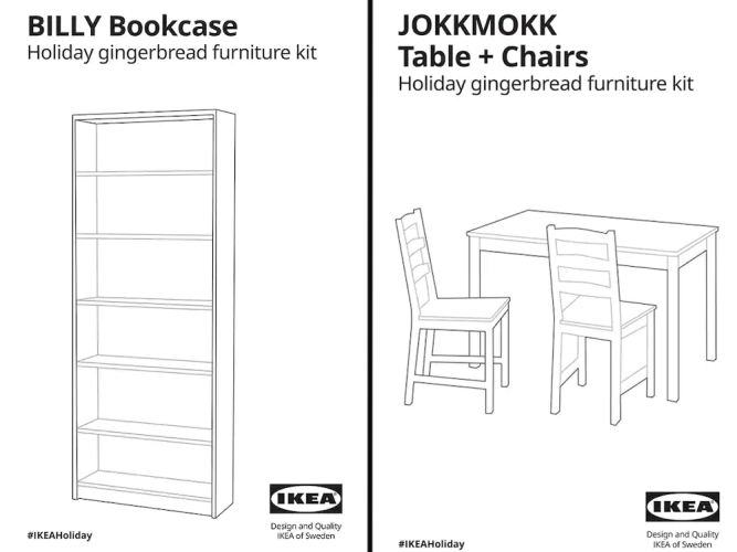 IKEA Gingerbread House Plans