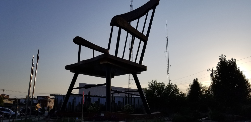 World's Largest Rocking Chair, Casey, Illinois