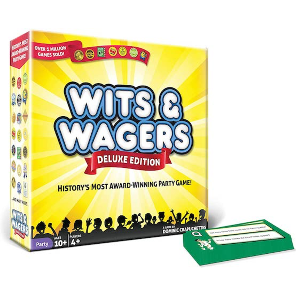 North Star Games Wits & Wagers Deluxe Edition: 0
