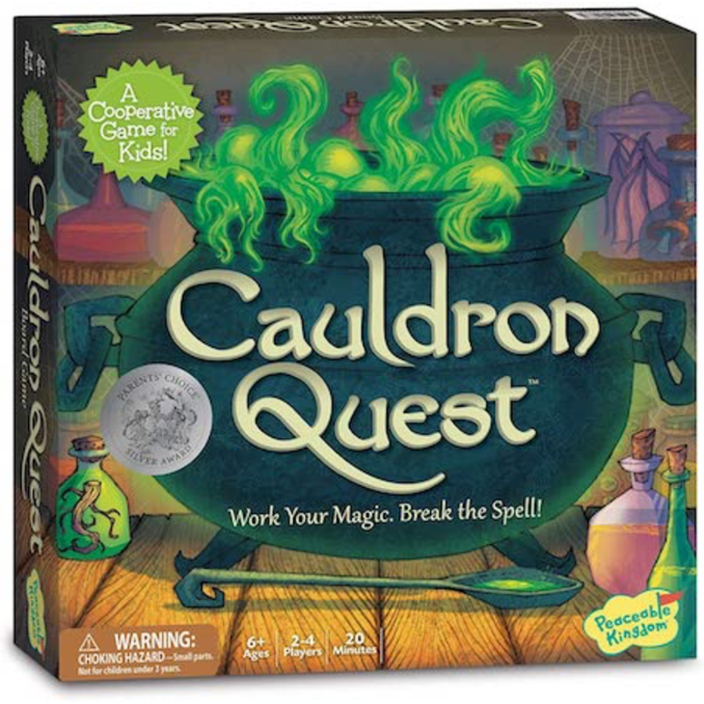 Peaceable Kingdom Cauldron Quest: 0