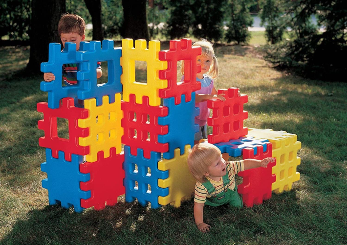 Little Tikes Big Waffle Block Set