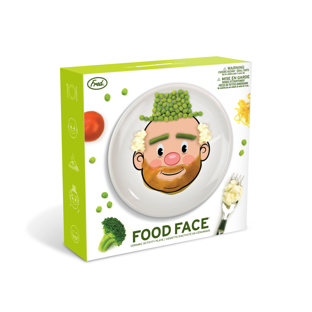 Fred Food Face Plate: 0