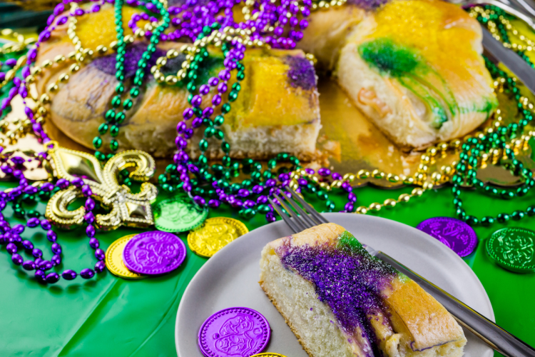 Mardi Gras Birthday Party