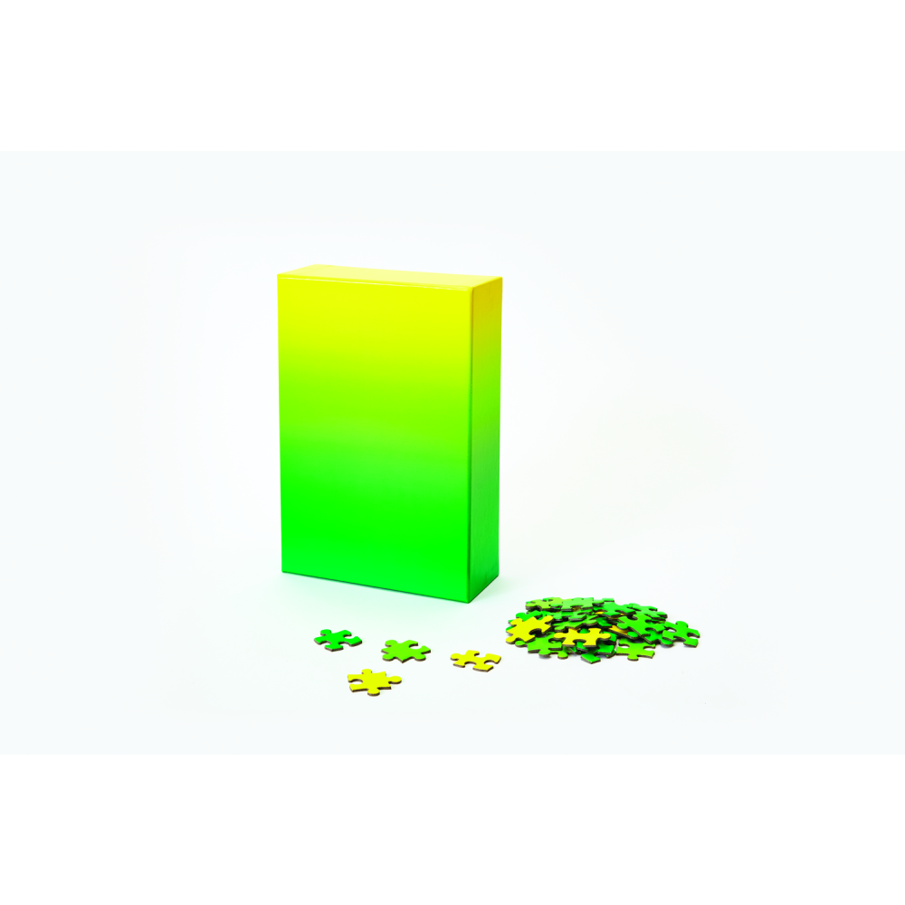 Areaware Gradient Puzzle Green/Yellow: 0