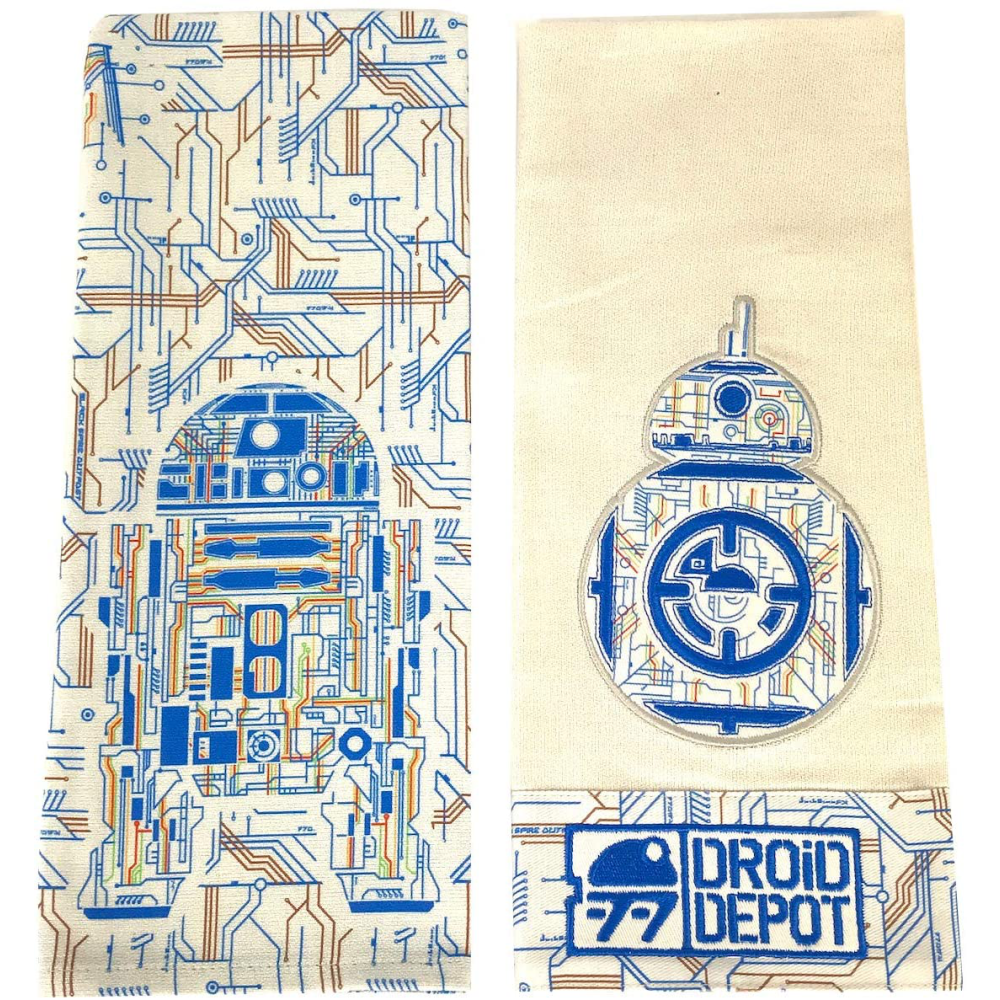 Galaxy's Edge Star Wars Droid Depot Dish Kitchen Towel Set: 0