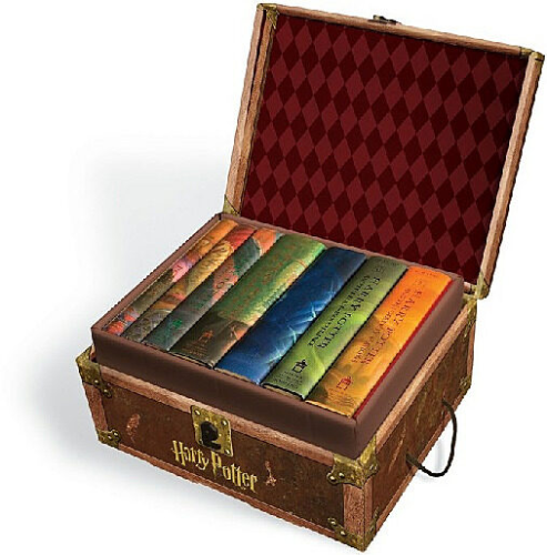 Scholastic Harry Potter Hardcover Book 1-7 Box Set: 0