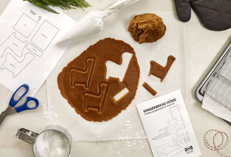 IKEA Gingerbread House Assembly