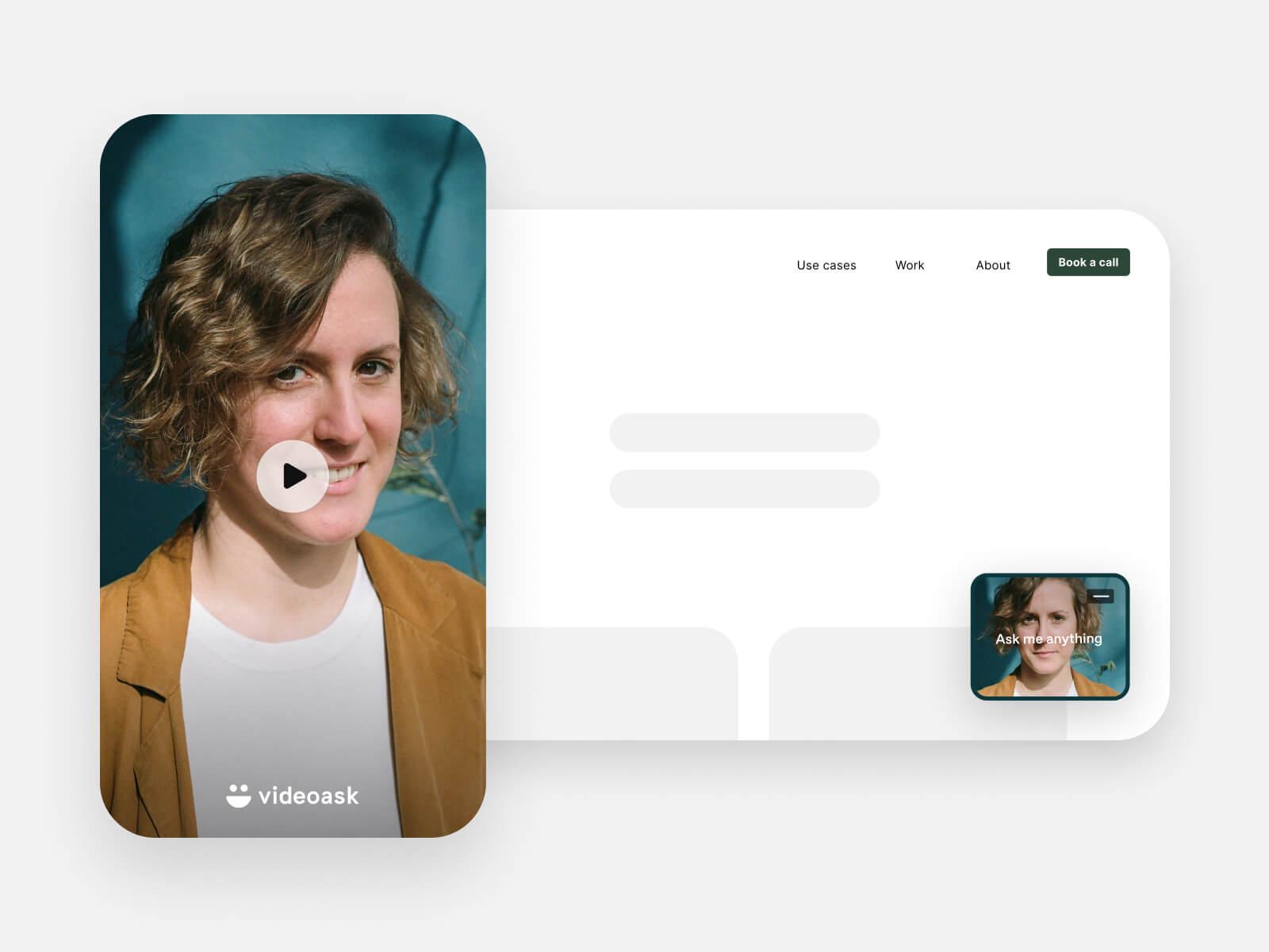 VideoAsk user interface