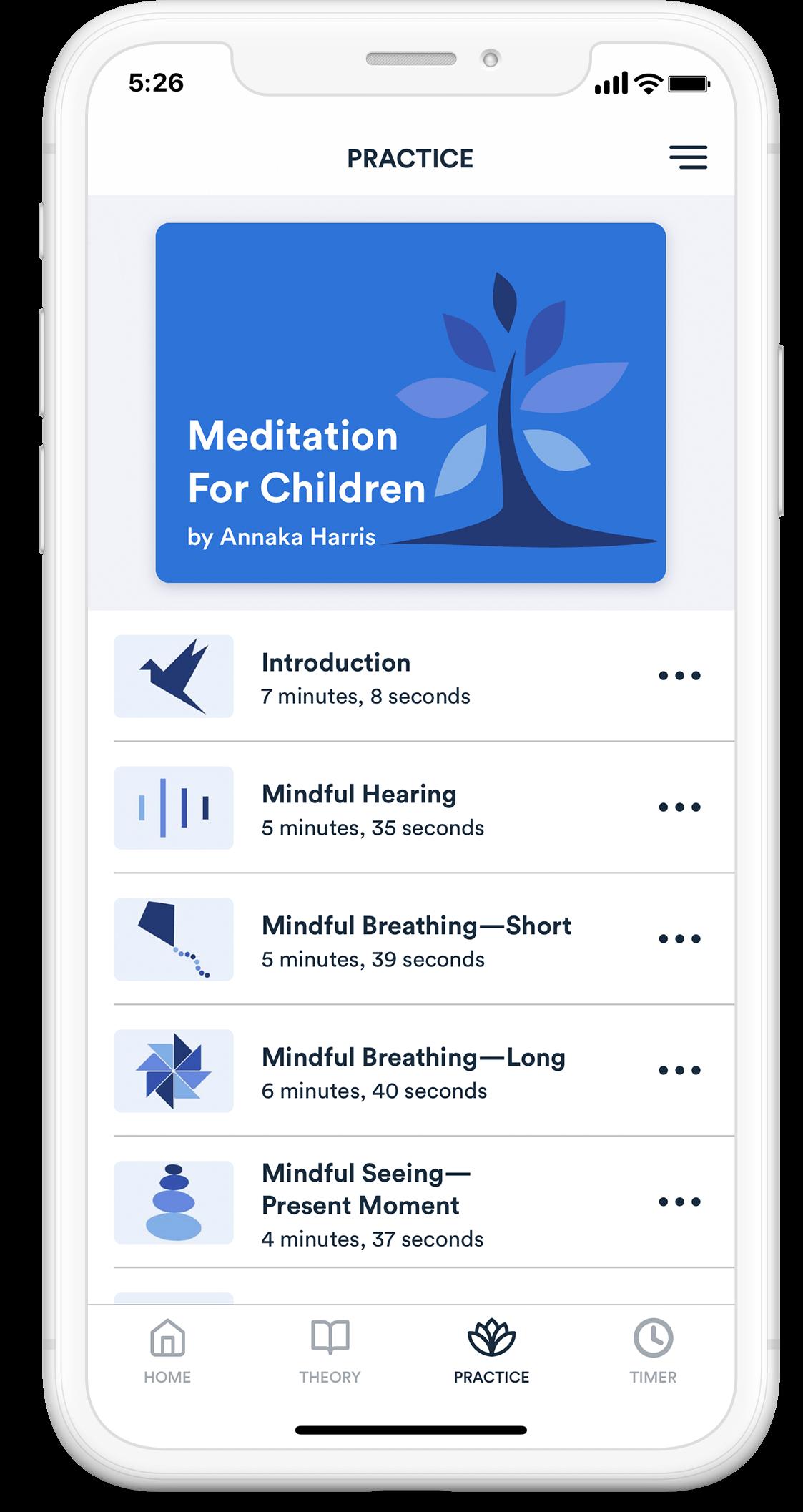 children-meditation