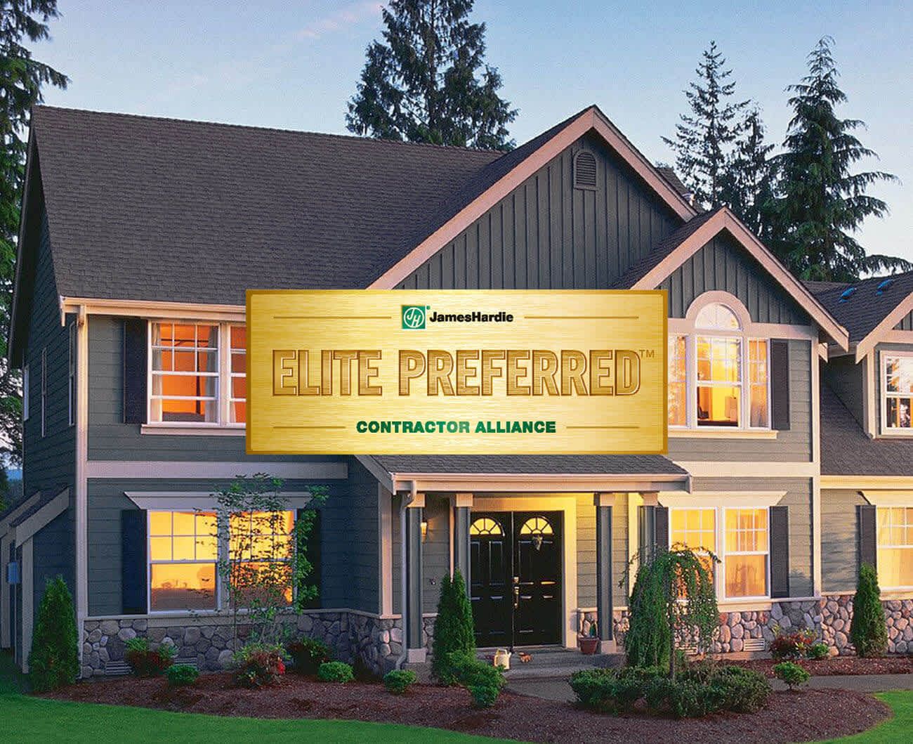 Choose an Elite Preferred James Hardie Contractor